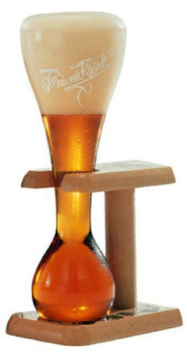 Pauwel Kwak Beer Glass with Stand