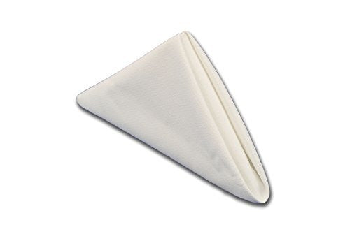 TableLinensforLess.com 6-pack Cloth Napkin (White)