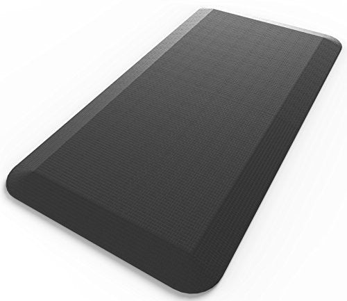 Royal 20x39-Inch Anti-Fatigue Comfort Mat - Jet Black