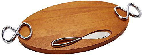 Nambe Infinity Serving Cheese Board