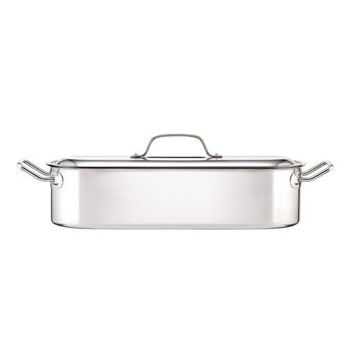 Kitchen Craft Clearview Stainless Steel Fish Poacher, 18 Inch