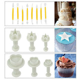 Marrywindix 68pcs 21 Sets Cake Decration Tool Set By Catalina Fondant Cake Cutter Mold Sugarcraft Icing Decorating Flower Modelling Tools