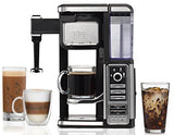 Ninja Coffee Bar Single-Serve System with XL Ninja Hot & Cold 22 oz. Multi-Serve Tumbler and Recipe Book (CF112)
