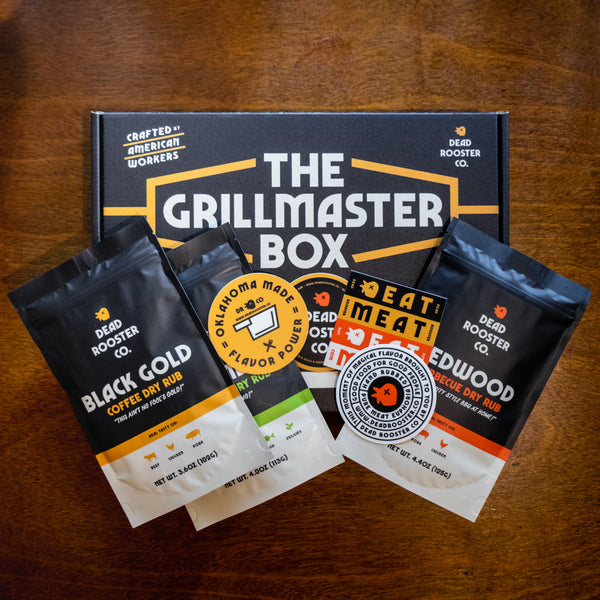 The Grillmaster Box <br><sub>Grilling Gift Box</sub>
