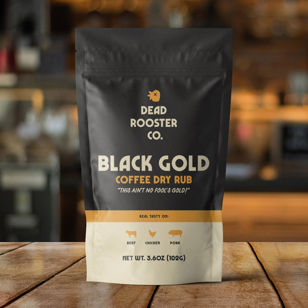 Black Gold <br><sub>Coffee Rub</sub>