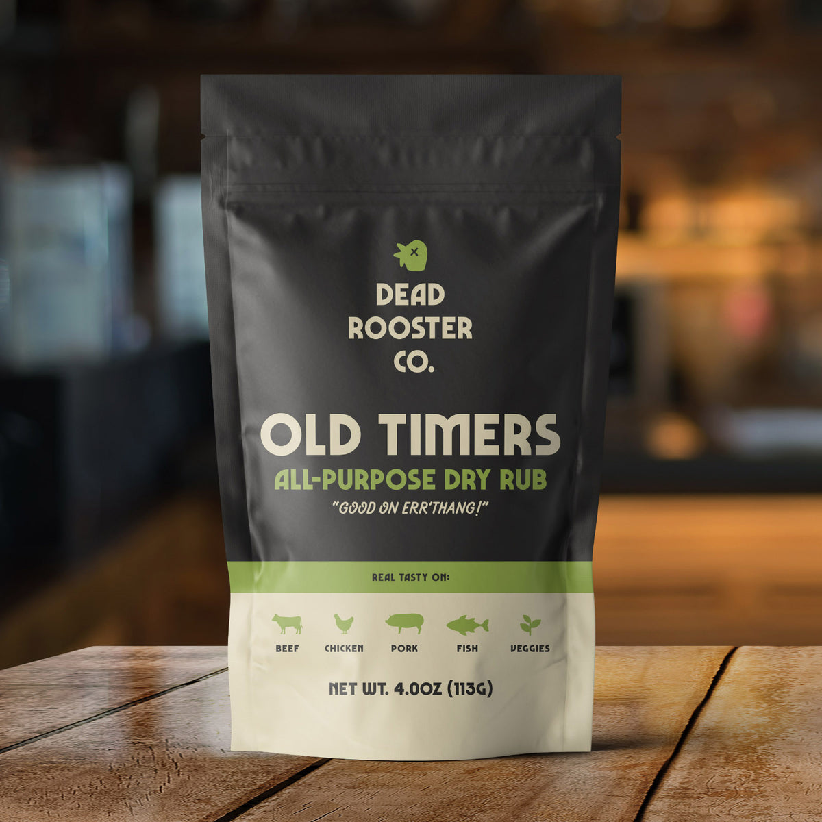 Old Timers <br><sub>All-Purpose Dry Rub</sub>