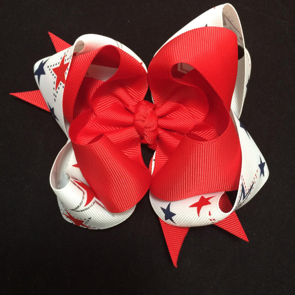 Star double stacked bow