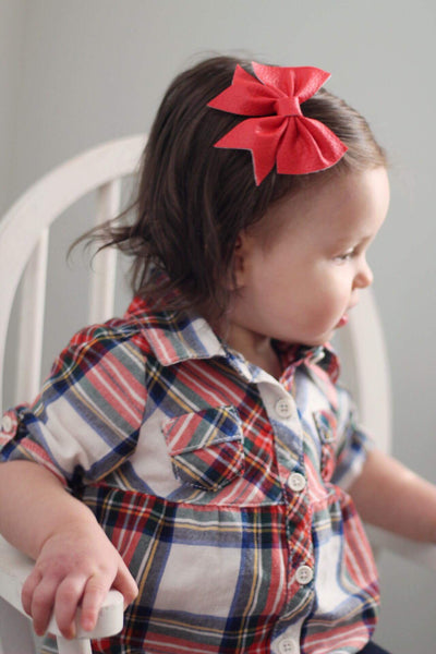 Red Addison Bows