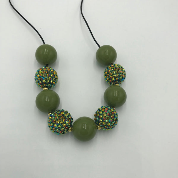 Olive breakaway necklace