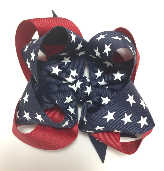 Vintage Fourth of July bow