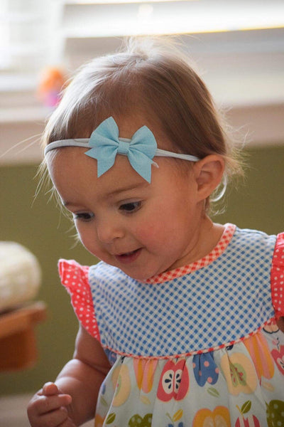 Light Blue Addison Bows