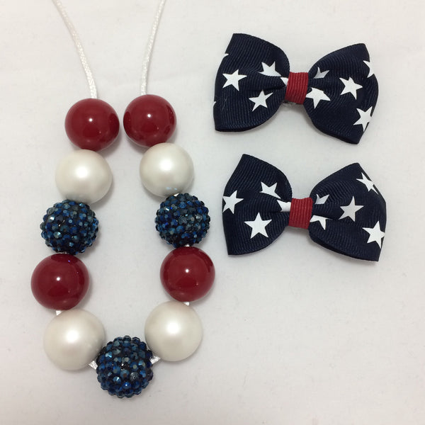 Vintage Fourth of July piggie set
