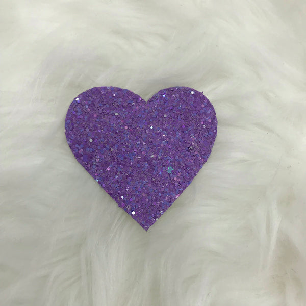 Purple Heart snap clip
