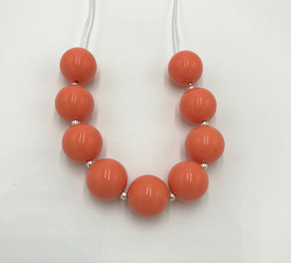 Coral breakaway necklace