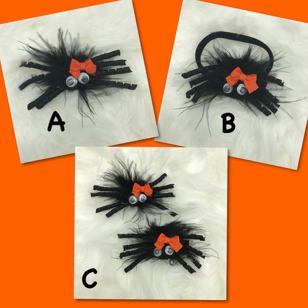 Spider bows & headbands