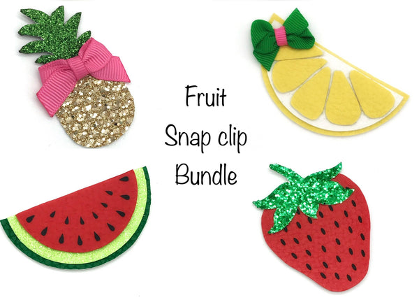 Fruit snap clip bundle