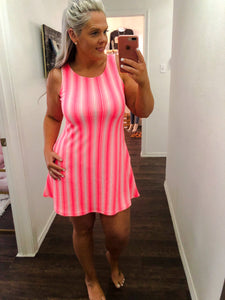 Kelly Neon Pink Dress