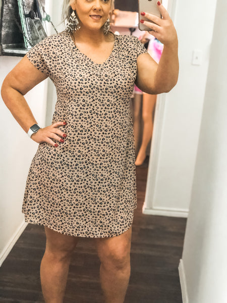 Belle Leopard Dress