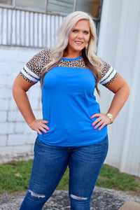 Kali Royal Leopard Top
