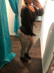 Cheetah Ankle Pants