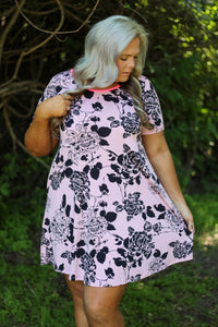 Paige Blush Floral Dress