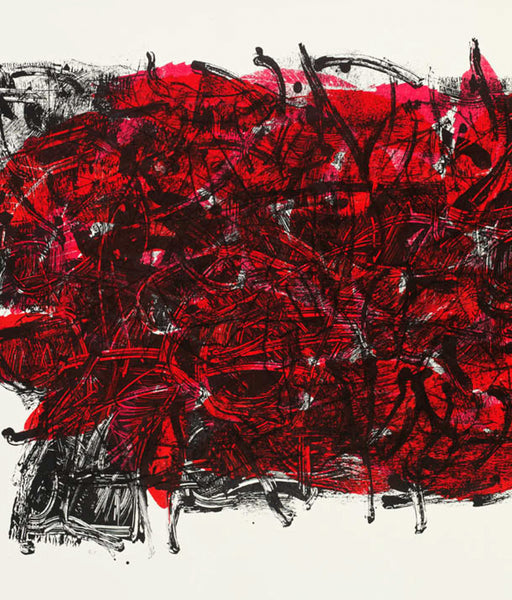 "Jean-Paul Riopelle ""Leaf III"" Lithograph, 1967"