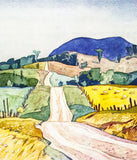 "Alfred Joseph Casson ""Country Road"" Serigraph, 1991"