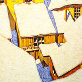 "Alfred Joseph Casson ""Roof Tops"" Serigraph, 1991"