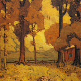"Alfred Joseph Casson ""Autumn Afternoon"" Serigraph, 1991"