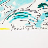 "Daniel Johnston ""Victory at Sea"" Limited Edition Hand Signed Whitney Print, 2006"
