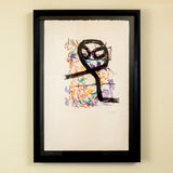 "Jean-Paul Riopelle ""The Owl / Hibou"" Lithograph, 1972"