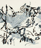 "Jean-Paul Riopelle ""Composition XV"" Lithograph, 1967"