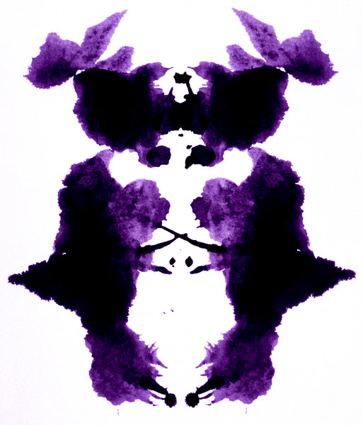 "Stephen John Crosby ""Ink Blot #3"" Photograph, 2018"