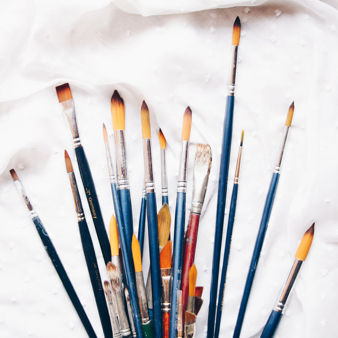 All About My Watercolor Paint Brushes