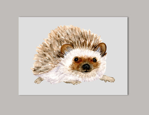 Hedgehog Original Painting