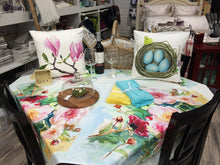 Watercolor Magnolia Throw Pillow Cover