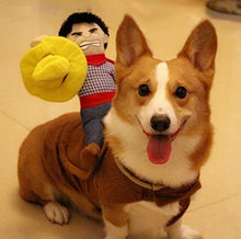 Funny and Cute Dog Cowboy Costume