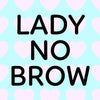 Lady No Brow Logo