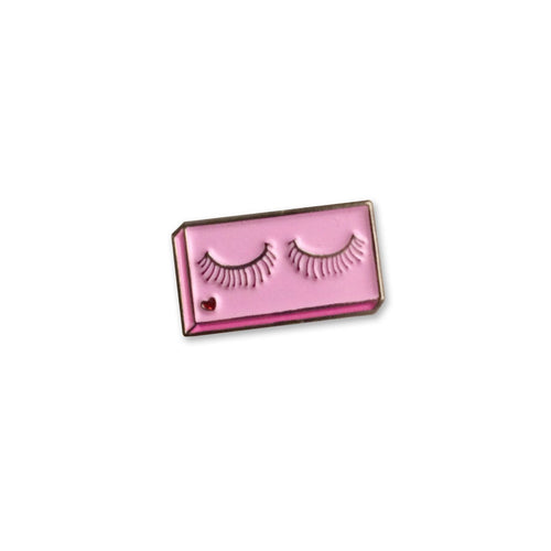 Sara M. Lyons False Lashes Enamel Pin