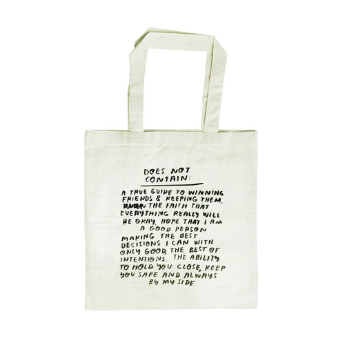 People I've Loved Does Not Contain Tote Bag Front