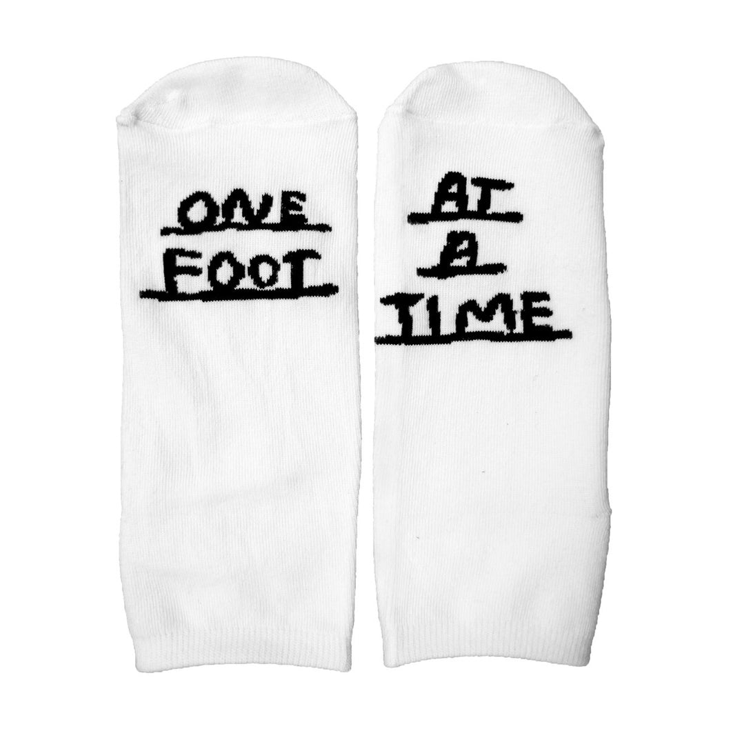 People I've Loved One Foot At A Time Ankle Socks
