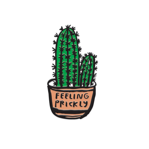 People I've Loved Feeling Prickly Cactus Enamel Pin