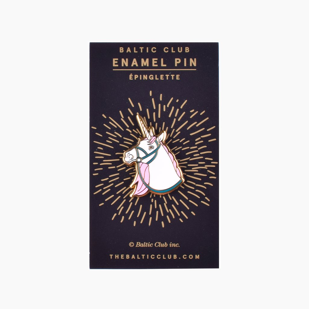 Baltic Club Unicorn Enamel Pin