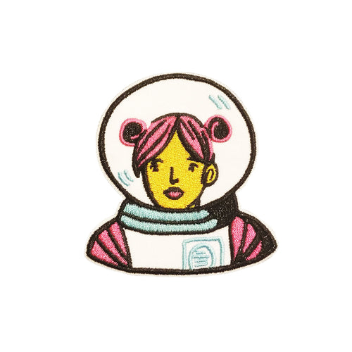 Jackie Lee Astronaut Iron Patch