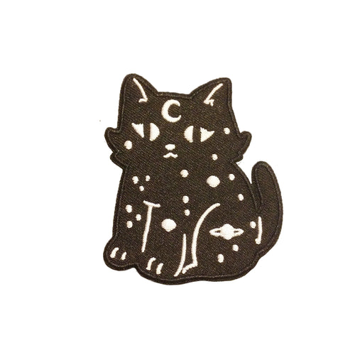 Jackie Lee Spacey Cat Iron-On Patch