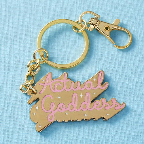 Punky Pins Actual Goddes Keychain