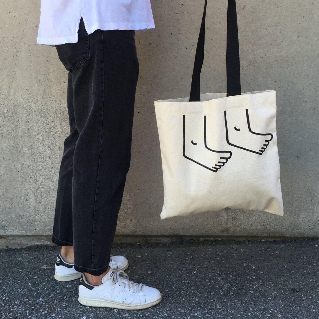 Guyguyguy Hands and Feet Tote