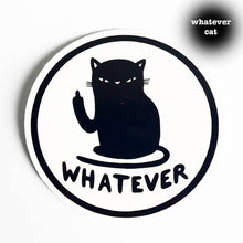 Whatever Cat Sticker