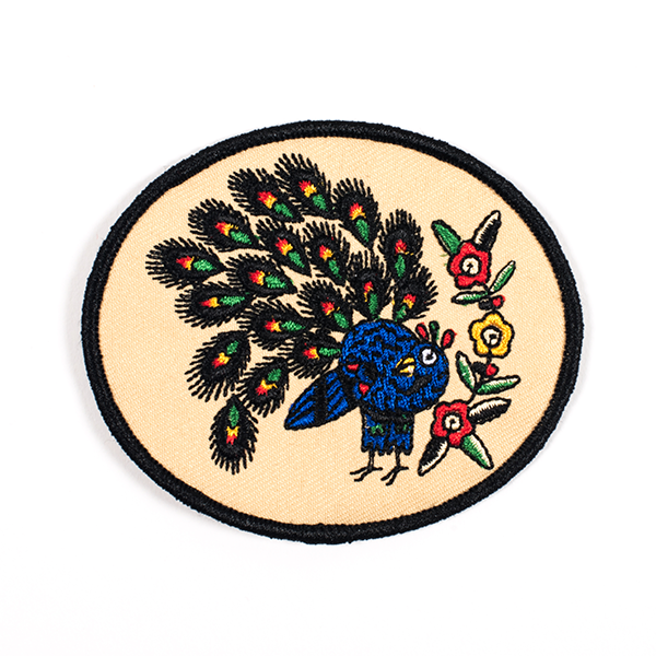 Explorer's Press Peacock Patch Jessi Preston