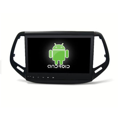 Jeep Compass Android Aftermarket GPS Navigation Car Stereo with DVD